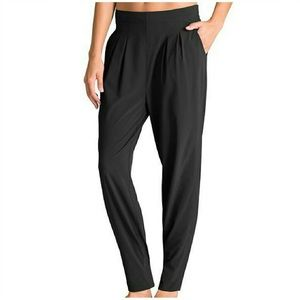 Athleta Easy Peazy Black lightweight Ankle pant